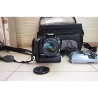 Canon EOS 400D Kit + Battery Grip BG-E3