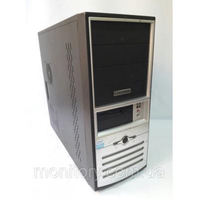 Системный блок б/у Персональный компьютер в ATX корпусе на DDR2.