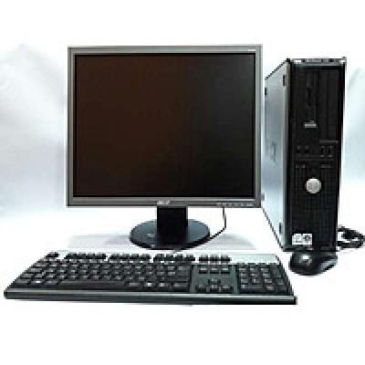 Комплект б/у Брендовый компьютер с монитором, колонками, мышкой и клавиатурой!