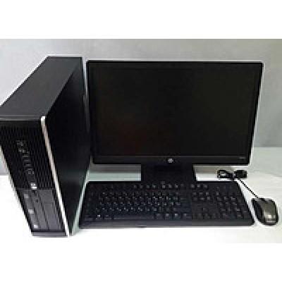 Комплект б/у Фирменный компьютер с монитором,колонками,мышкой и клавиатурой!