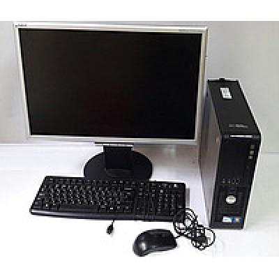 """Комплект б/у Отличный полный рабочий комплект: системный блок + монитор 22"""" диагональ+ клавиатура и мышка!"""
