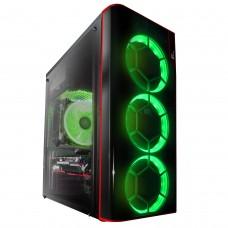 Корпус Frime VISION GREEN LED
