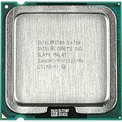 Процессор Intel Core 2 Duo Processor E6750 (4M Cache, 2.66 GHz, 1333 MHz FSB)