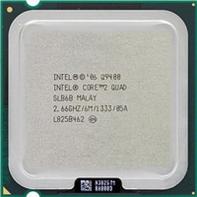 Процессор 4 ядра Intel Core2 Quad Q9400 (6M Cache, 2.66 GHz, 1333 MHz FSB)