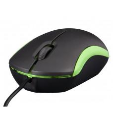 Компьютерная мышь Frime FM-010 черно-зеленая