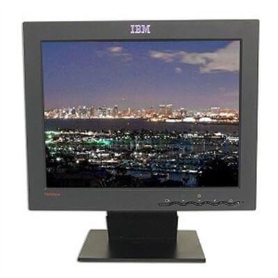 """Монитор б/у 15"""" IBM ThinkVision L150 / 1280х768 / Угол обзора 150° / Входы - VGA  / Цвет - черный / Крепление 100х100 / Отличное состояние"""