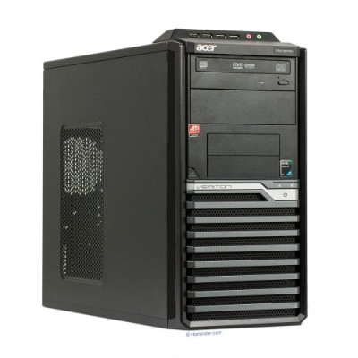 Системный блок б/у Компьютер ACER Veriton M421G 4Gb DDR2 / DVI, VGA, USB, PS/2 / DVD-RW