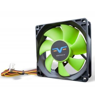 Вентилятор Frime FGF80 Black/Green 3Pin