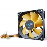 Вентилятор Frime FYF80 Black/Yellow 3Pin