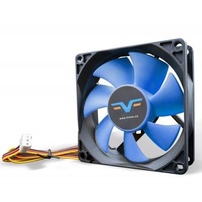 Вентилятор Frime FBF80 Black/Blue 3Pin