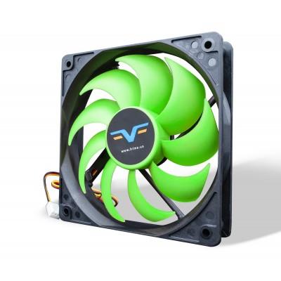 Вентилятор Frime FGF120 Black/Green 3Pin