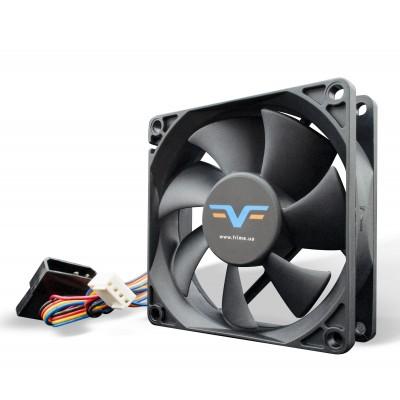 Вентилятор Frime FF80 PWM 2Ball Bearing Black
